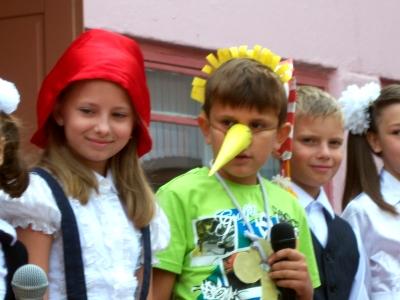 МОУ СОШ № 59 г. Брянска, День знаний. 01.09.2011