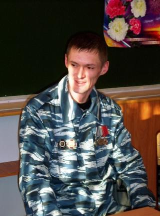 МБОУ СОШ № 59 г. Брянска, встреча с бойцами брянского ОМОНа, 02.02.2012