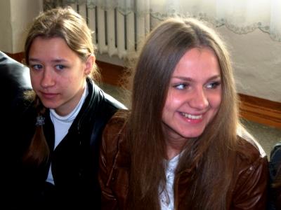 МБОУ СОШ № 59 г. БРЯНСКА. ЕГЭ-2012. Перед экзаменом по русскому языку (31.05.2012)