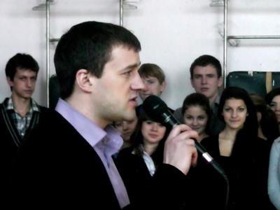 МБОУ СОШ № 59 г. БРЯНСКА. МЕСЯЧНИК ОБОРОННО-МАССОВОЙ РАБОТЫ (23.01.2013)