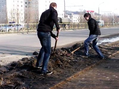 МБОУ СОШ № 59 г. БРЯНСКА. 13.04.2013. СУББОТНИК !!!