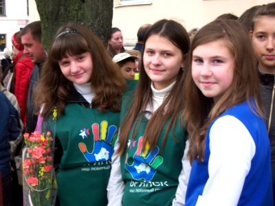 МБОУ СОШ № 59 г. БРЯНСКА. ПАРАД ПОКОЛЕНИЙ. 17.09.2013