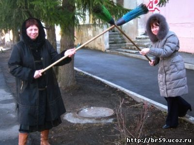 МБОУ СОШ № 59 г. БРЯНСКА. СУББОТНИК (22.03.2014)